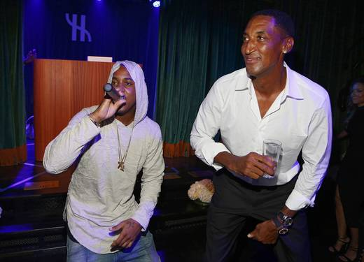 Jeremih and Pippen