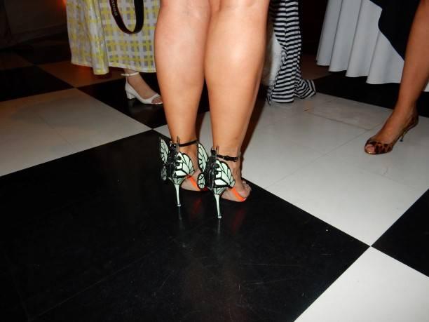 Rada Katz's Sophia Webster butterfly shoes
