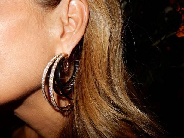 Sabrina Baldieri's de Grisogono earrings