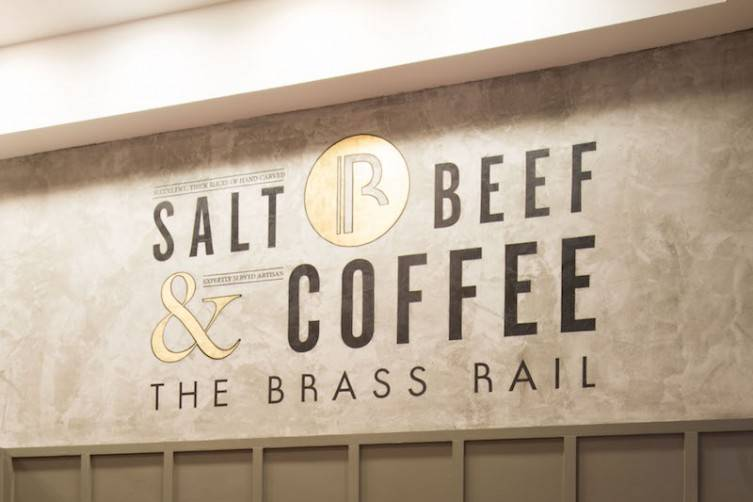 The Brass Rail Salt Beef and Coffee Bar. PHOTO MATT WRITTLE © copyright Matt Writtle 2015.