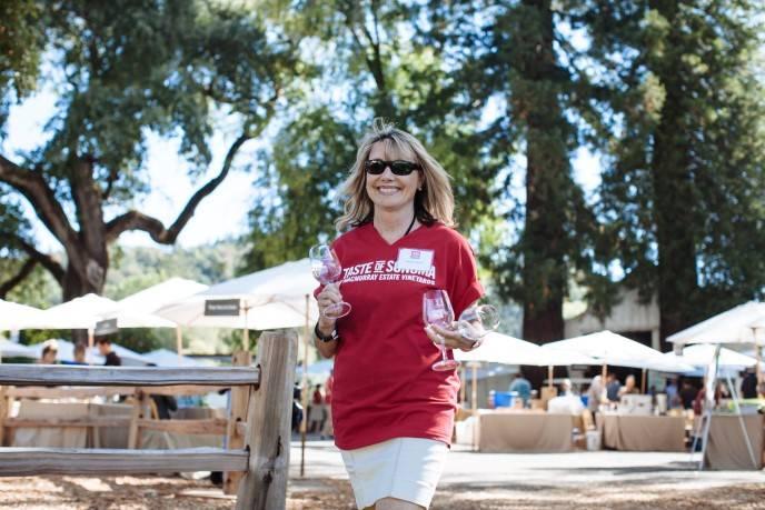 Taste of Sonoma Volunteer