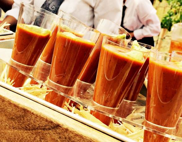 Tortilla soup shooters