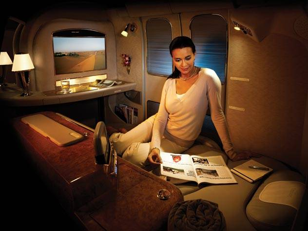 Emirates Airlines Private First Class Suite
