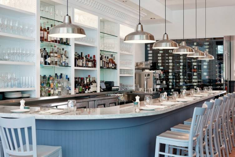 Gemma can best be described as stylish simplicity with its Down East inspired decor.