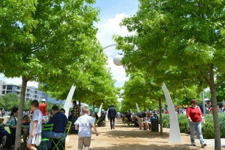 Park and Palate is a fundraising event to benefit Klyde Warren Park.