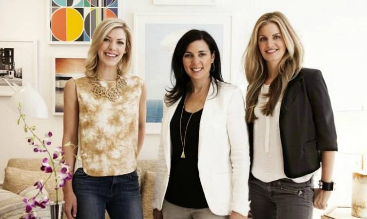 From left: Viyet CEO, Elizabeth Brown; Jennifer Koen, VP of Business Development and Public Relations; and co-founder Louise Youngston-Klasfeld
