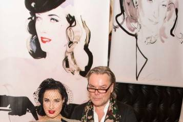 Dita Von Teese, David Downton
