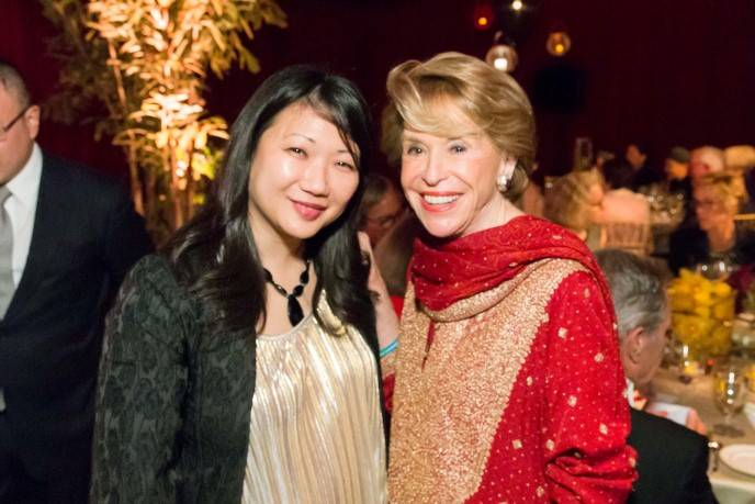 Liliana Chen and  Joan Weill