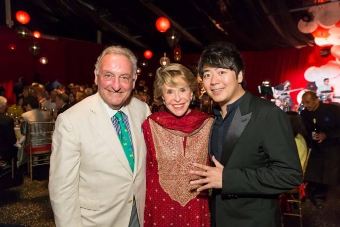 Sandy Weill, Joan Weill, Lang Lang