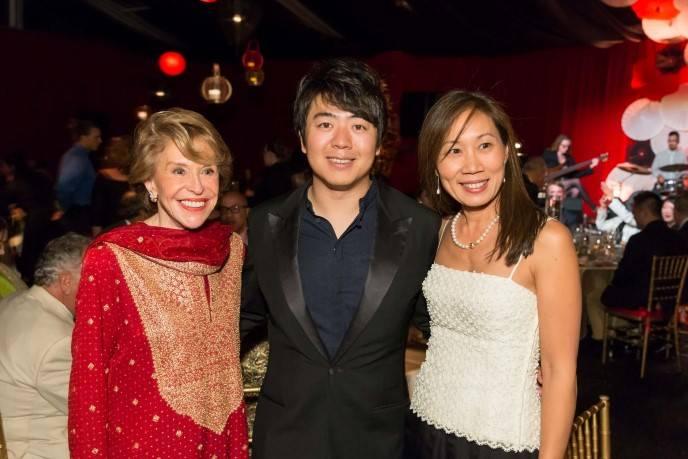 Joan Weill, Lang Lang, Alice Chiang