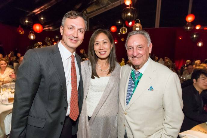 Victor Laconde, Alice Chiang, Sandy Weill