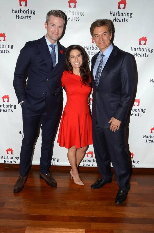 Ryan Serhant, Michelle Javian, Dr. Oz- photo by Andrew Werner