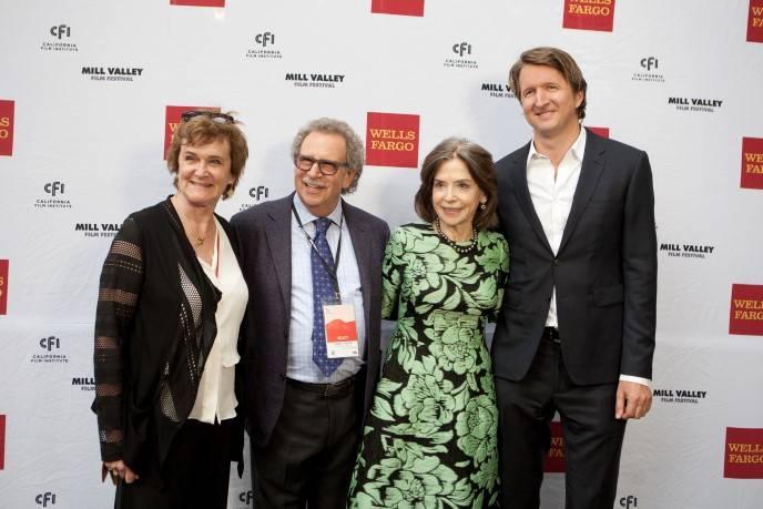Zoe Elton, Mark Fishkin, Gail Mutrux and Tom Hooper