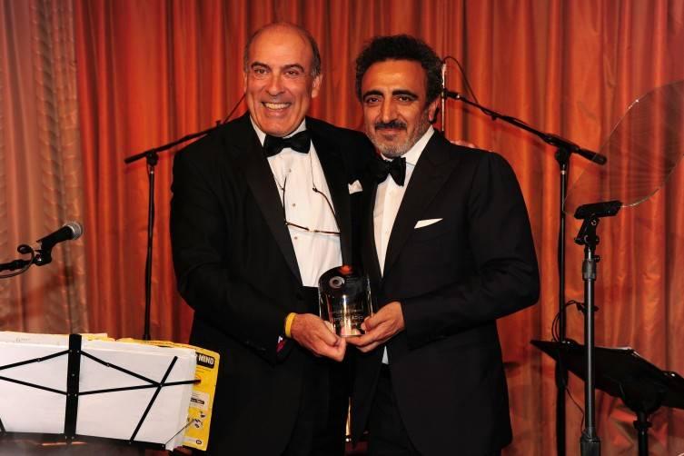 Muhtar Kent, Hamdi Ulukaya at the 2015 American Turkish Society Gala. ©Patrick McMullan== photo - Owen Hoffmann/PatrickMcMullan.com== ==
