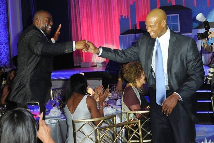 Habitat For Humanity Honors Magic Johnson 2