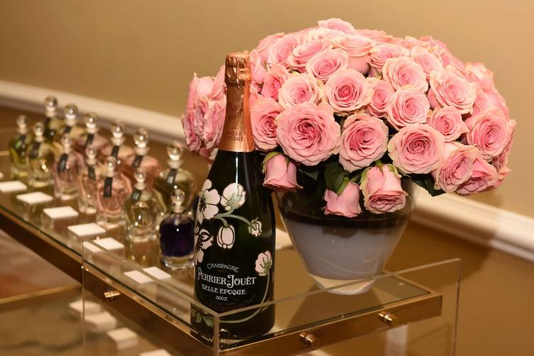 BEVERLY HILLS, CA - OCTOBER 15:  A general view of atmosphere at Haute Living And Eric Buterbaugh Florals Celebrate Perrier-Jouet Belle Epoque 2007 Limited Edition at The Beverly Hills Hotel on October 15, 2015 in Beverly Hills, California.  (Photo by Vivien Killilea/Getty Images for Haute Living)