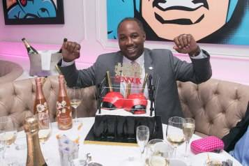 Lennox Lewis Haute 50th Birthday Celebration Hosted By Haute Time, Audemars Piquet,  And Perrier Jouet