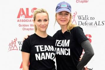 "Nanci Ryder's ""Team Nanci"" At The 13th Annual LA County Walk To Defeat ALS"