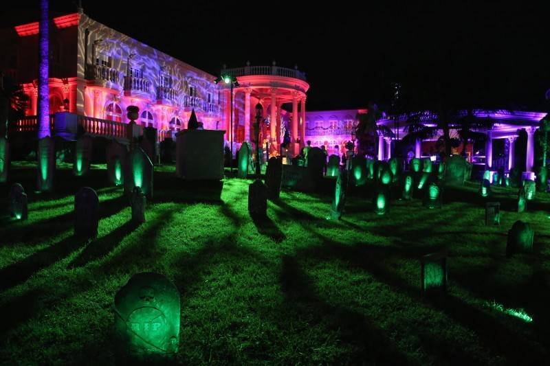 A view of general atmosphere during the Maxim Halloween Party