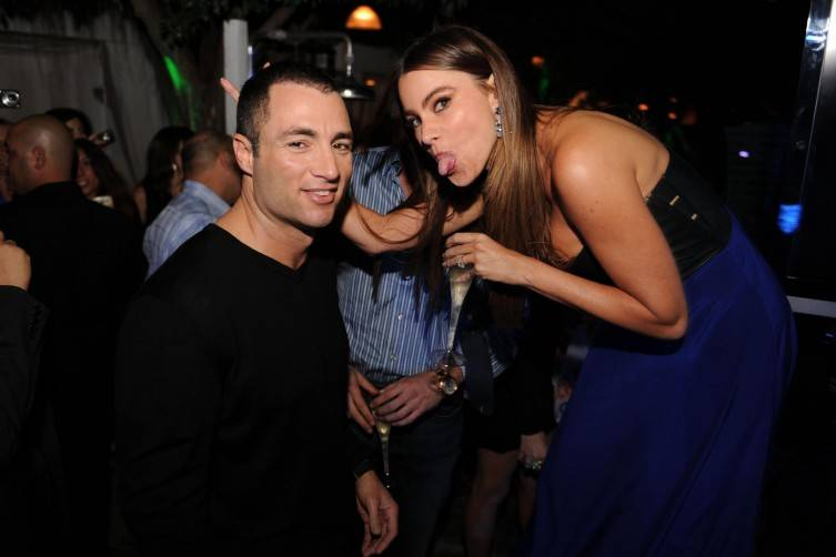 Chris Paciello with Sofia Vergara