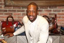 Dwyane Wade with Berluti shoes