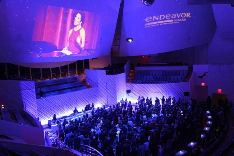 Endeavor Miami Celebration Dinner (New World Center in 2014