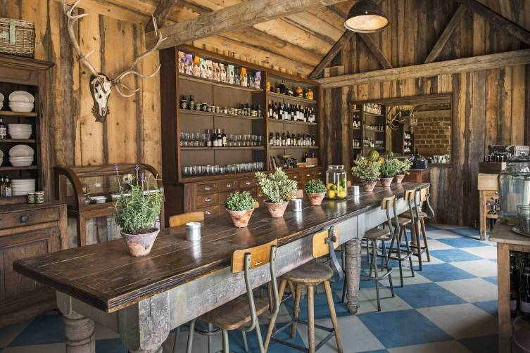 Farmhouse and Deli Seating Area