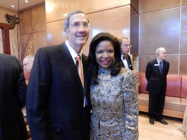 Fred Giuffrida and Pamela Joyner