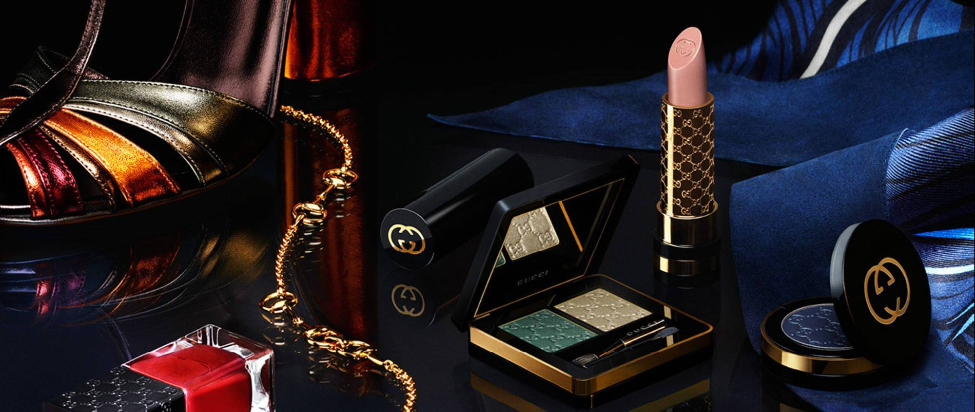 Gucci's New Luxury Cosmetics Rule the Stage and the Street