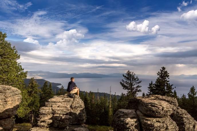 Hiking Brockway Summit