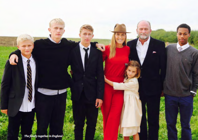 India Hicks family