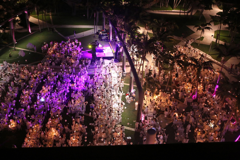 Le Dîner en Blanc Miami