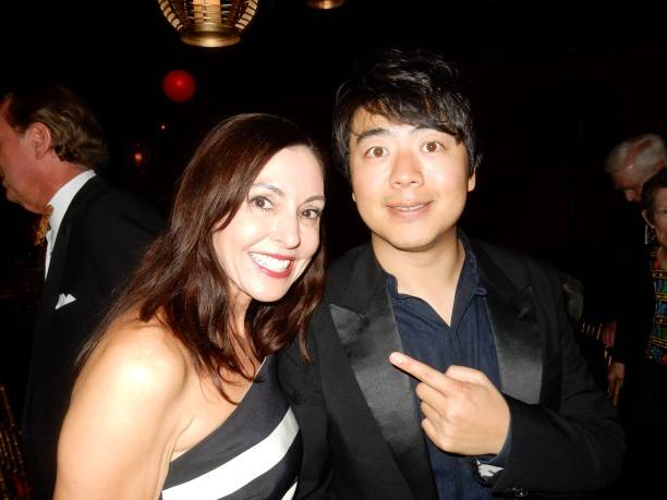 Marybeth La Motte and Lang Lang