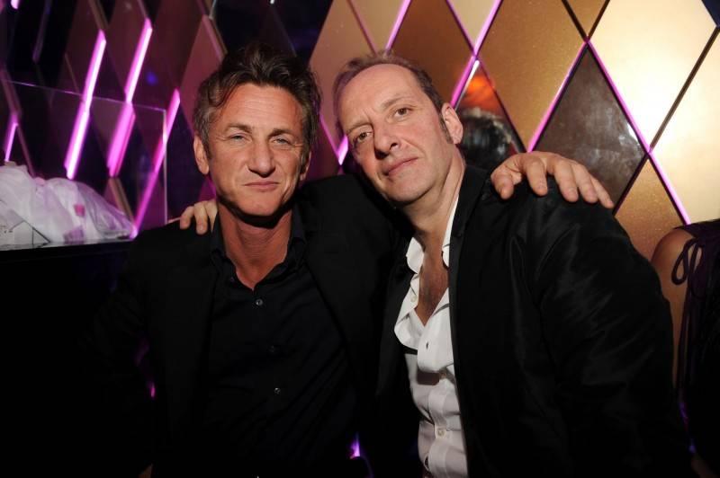 Sean Penn and Nicola Siervo