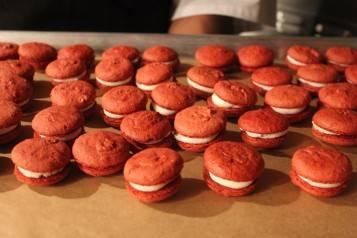 P3. Beet Macarons