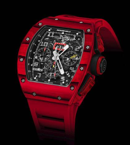 Haute Time: Richard Mille Debuts New RM 011 Red TPT®