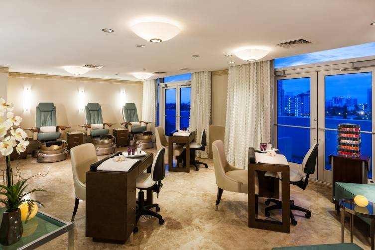 Ritz-Carlton Fort Lauderdale nail spa