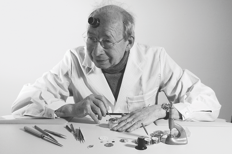 IWC's legendary master watchmaker Kurt Klaus