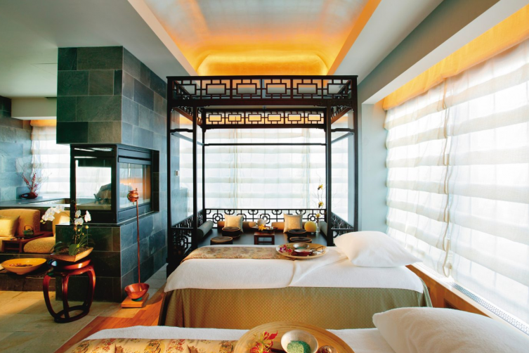 VIP Spa Suite at the Mandarin Oriental Spa