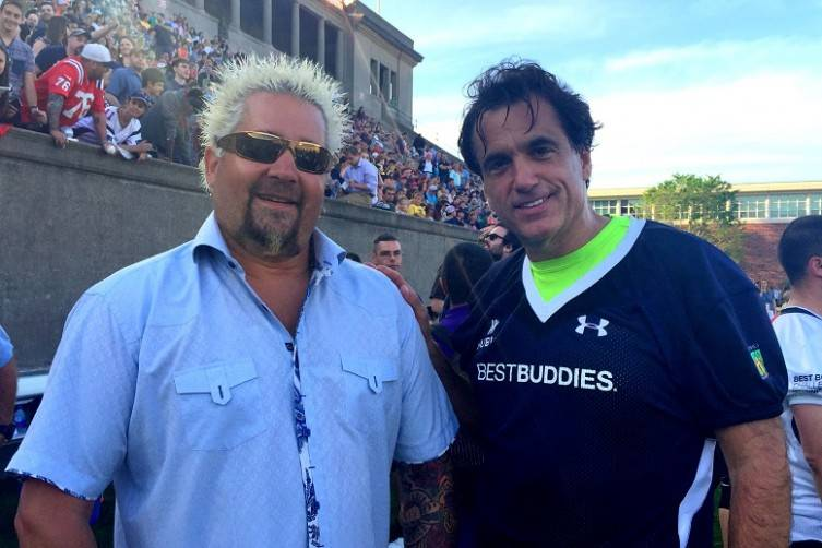 Steve DiFillippo with Guy Fieri