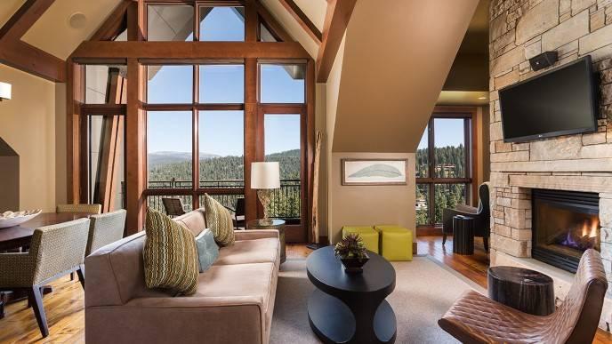 The Ritz-Carlton Lake Tahoe 3 Bedroom Residential Suite