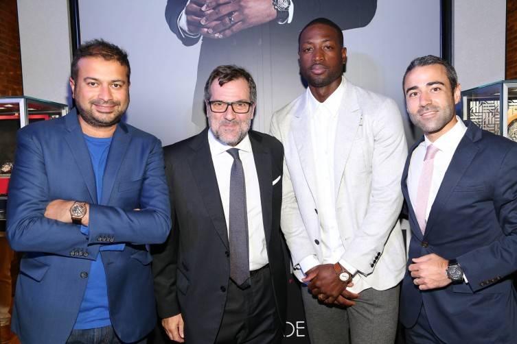 Kamal Hotchandani, Patrick Ottomani, Dwyane Wade, Jean-François Sberro