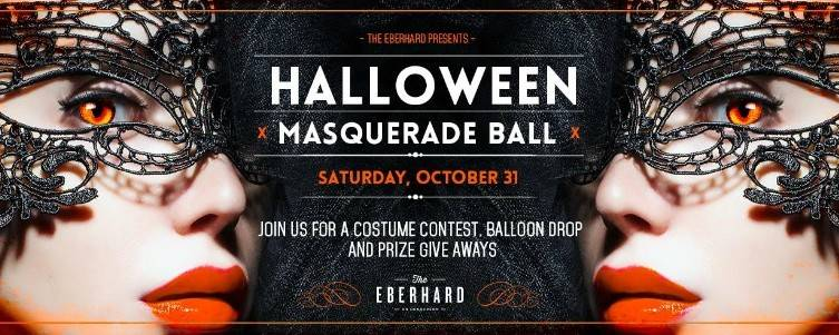 Join the fun at the Halloween Masquerade at The Ebhard.