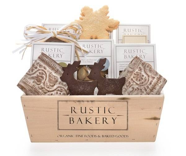 rustic bakery holiday jar