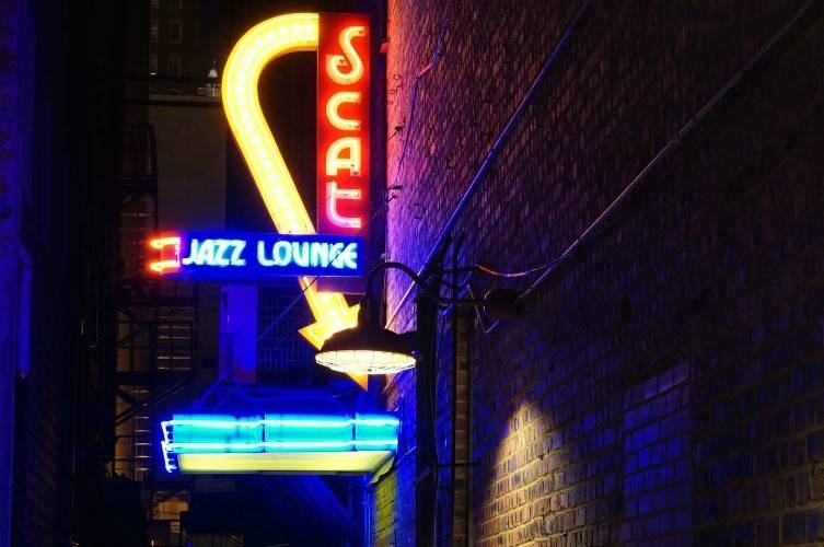 Scat Jazz Lounge in Fort Worth is a trip back in history.