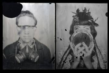 Walter Hugo & Zoniel, Self Portrait, glass plate ambrotype, 2010 © Art Silicon Valley San Francisco