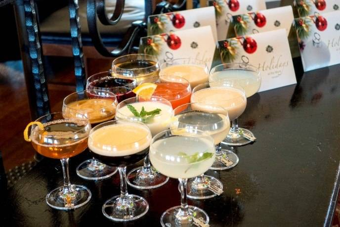 "Top of the Mark's ""12 Cocktails of Christmas"""