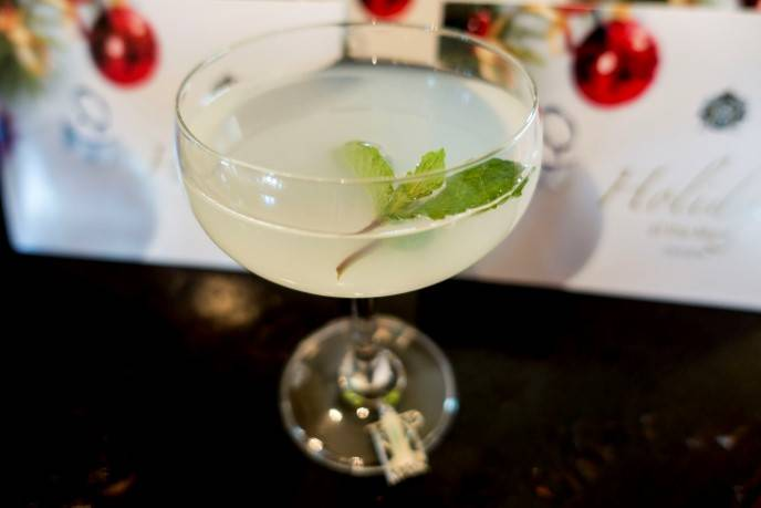 Top of the Mark's 12 Cocktails of Christmas