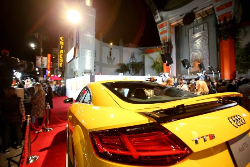 The all-new 2016 Audi TTS at Audi's AFI Film Fest