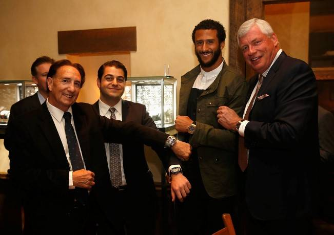Hublot SF Celebration With Colin Kaepernick At Kokkari